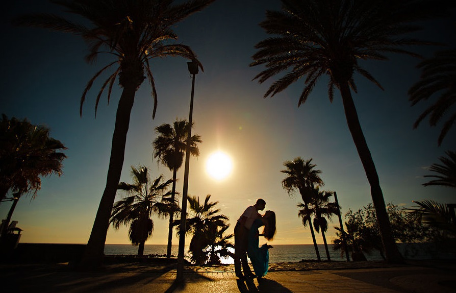Fotosesija Malagā un Costa del Sol
