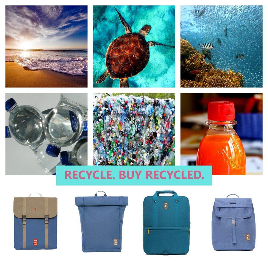 EcoBagShop: inovatīvas mugursomas no pārstrādātās plastmasas