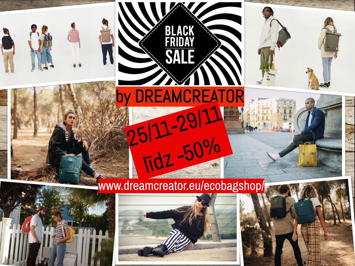 Black Friday Sale by DREAMCREATOR- EcoBagShop